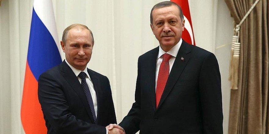 Cumhurbaşkanı Erdoğan, Putin ile telefonda Suriye'yi konuştu