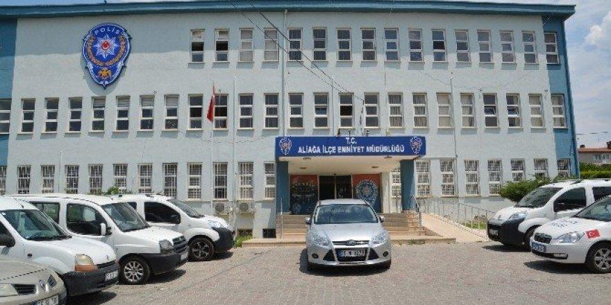 Aliağa'da FETÖ operasyonu: 4 gözaltı