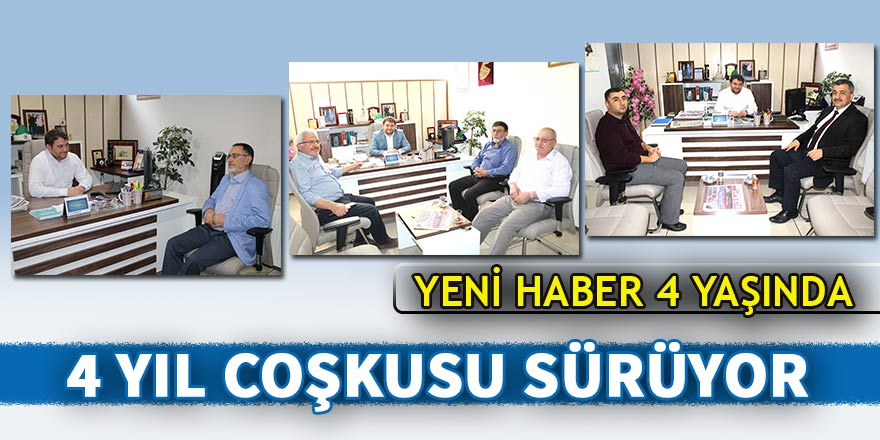 4. Yıl coşkusu sürüyor