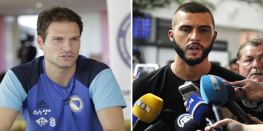 Begovic ve Medunjanin Belçika maçından umutlu
