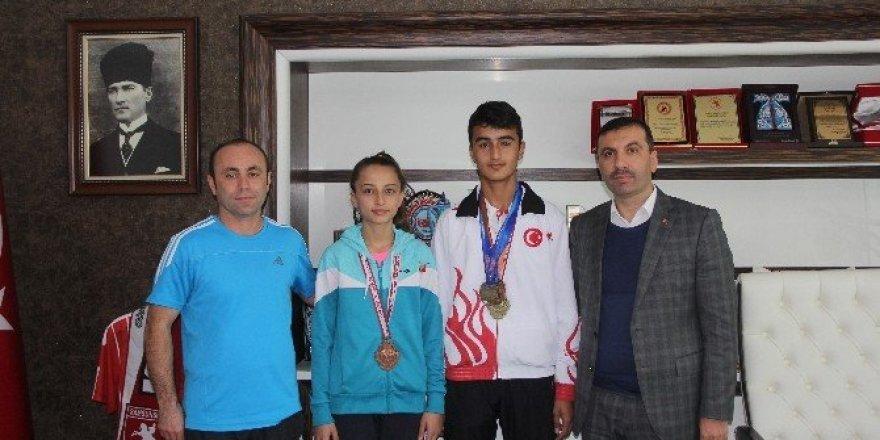 Avrupa ve Türkiye şampiyonları Kavak'tan çıktı