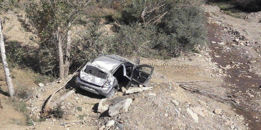 Gümüşhane'de trafik kazası :1 ölü, 3 yaralı