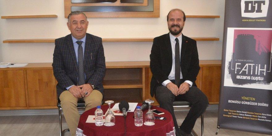 Konya'da tiyatro sezonunun ilk oyunu seyirciyle buluşyor