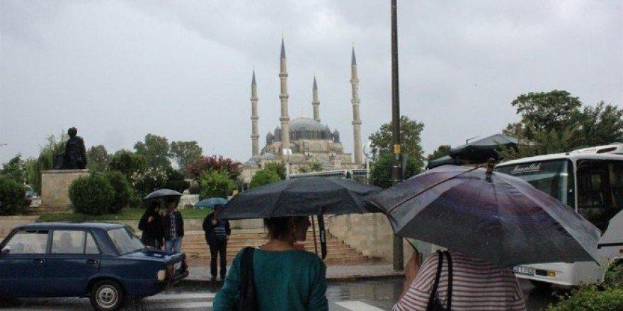 Edirne'de hafta sonu yağış bekleniyor