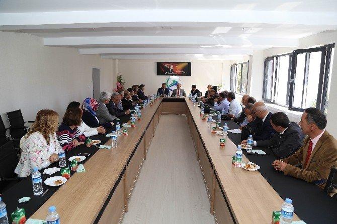Nüfus müdürleri Ereğli'de istişare toplantısı yaptı