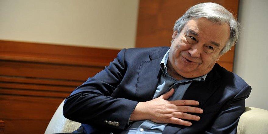 Guterres ismi BMGK'yı birleştirdi