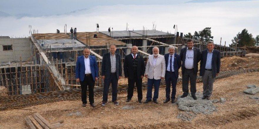 Türkiye'nin yeni kayak merkezinde çalışmalar hızlandı
