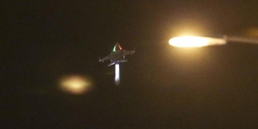 F16'lar 'kırmızı' ve 'turuncu' işaretli hedefleri vuracaktı
