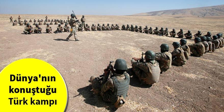 Dünya'nın konuştuğu Türk kampı