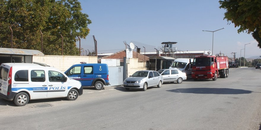 Beyşehir cezaevinde tatbikat