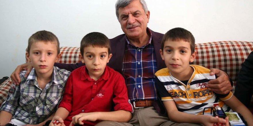 Recep, Tayyip, Erdoğan adlı üçüzler 7 yaşında