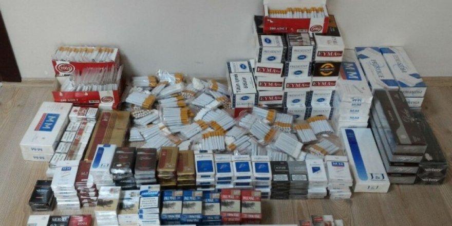 Çorum polisinden kaçak 'Polat Alemdar' sigara operasyonu