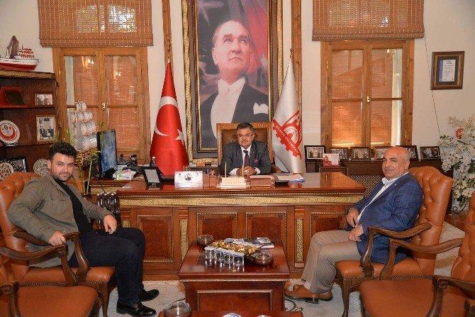 Başkan Yağcı'ya Balcı'dan ziyaret