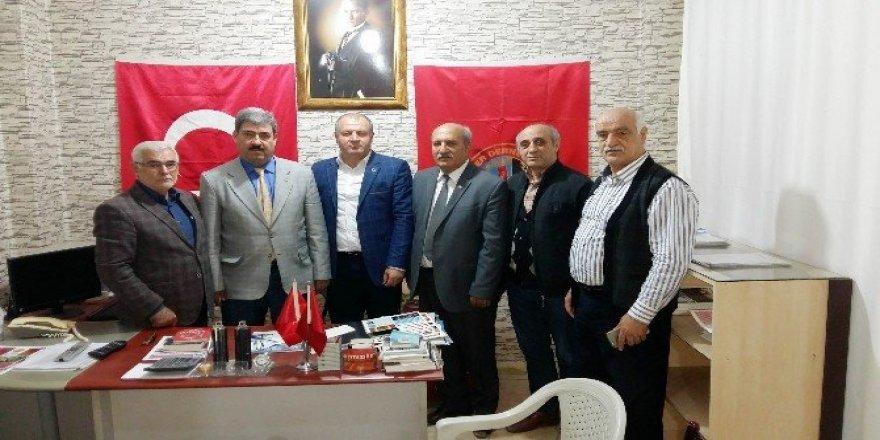 ASİMDER'den, Türkiye Emekliler Derneğine ziyaret