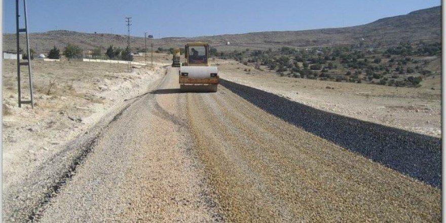 Cezaevi yolu asfaltlandı
