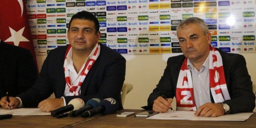 Rıza Çalımbay Antalyaspor'a imzayı attı