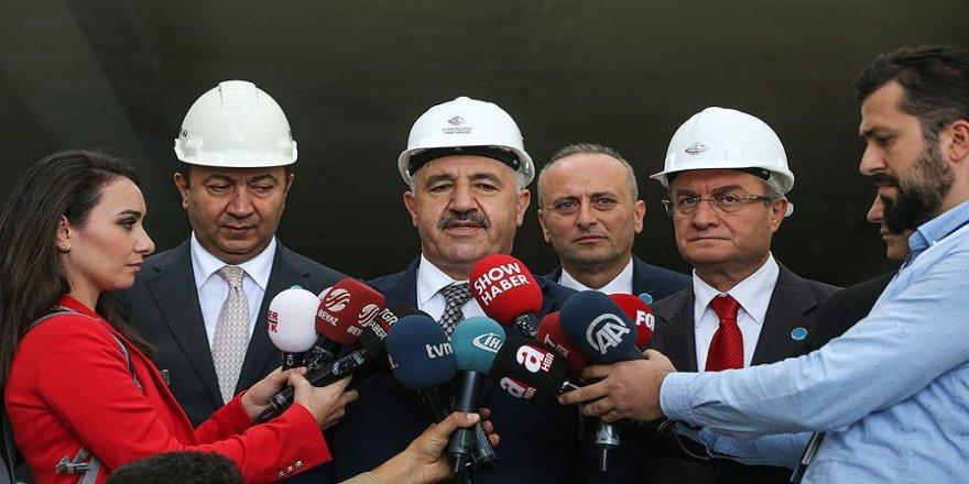 Bakan Arslan Avrasya Tüneli'nin geçiş ücretini açıkladı