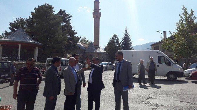 Başkan Tutal, Daire Başkanı Sert ile incelemelerde bulundu