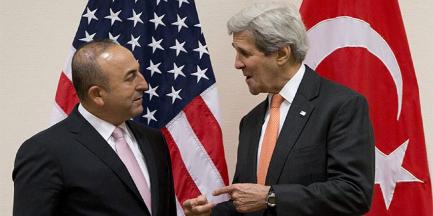 Çavuşoğlu, ABD Dışişleri Bakanı John Kerry ile görüştü