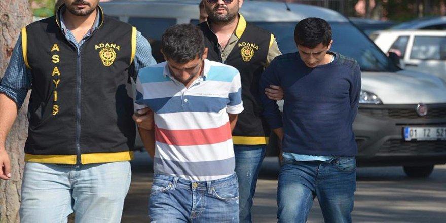 Adana'da 7 olaya karışan 2 zanlı yakalandı