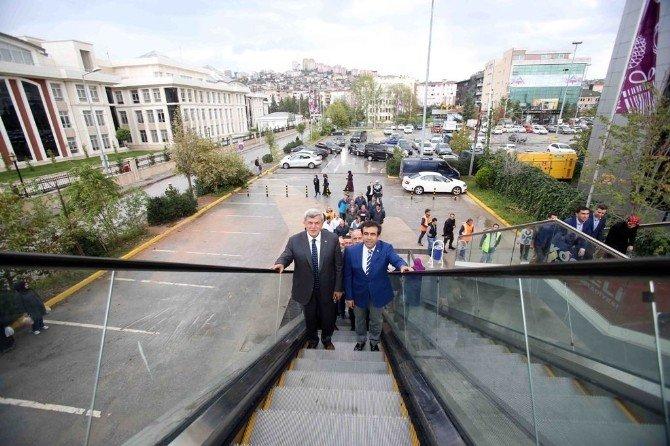 Erbakan ve Türkeş yaya köprüleri tanıtıldı