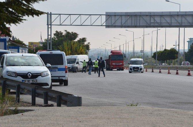 Eskişehir'de şüpheli araç durduruldu