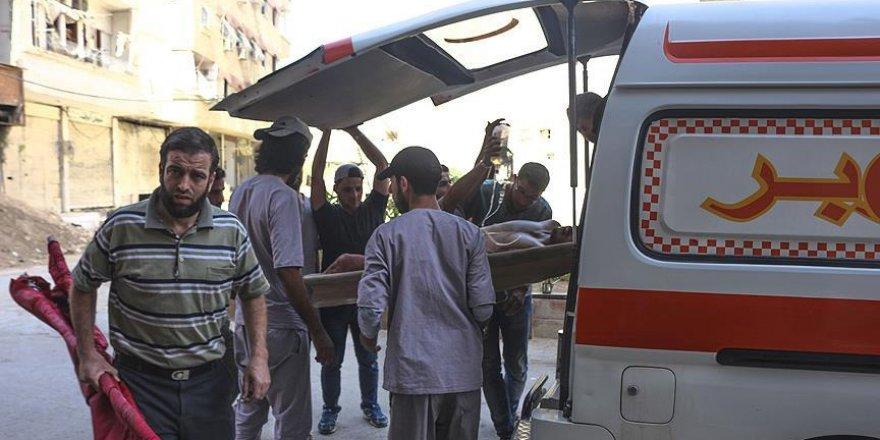 Şam'ın Cobar bölgesine rejim saldırsı