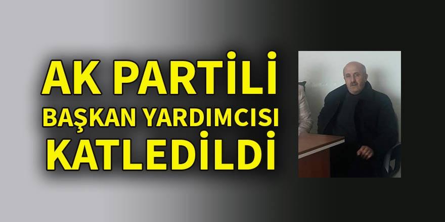 AK Partili Başkan Yardımcısı öldürüldü