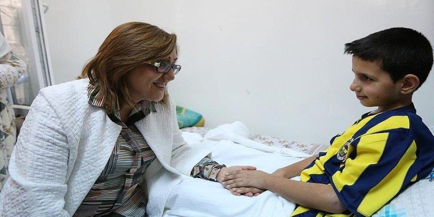 Gaziantep'teki terör saldırısında yaralanan çocuk sağlığına kavuştu