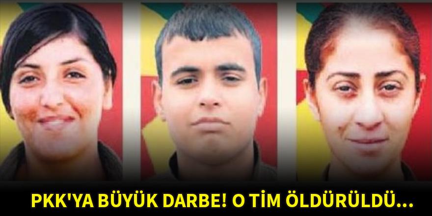 PKK'ya büyük darbe! O tim öldürüldü...