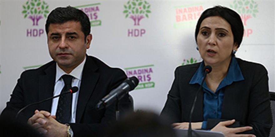 Demirtaş ve Yüksekdağ'dan kınama