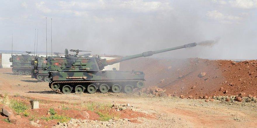 TSK Fırtına obüsleri ile 91 DEAŞ hedefini vurdu