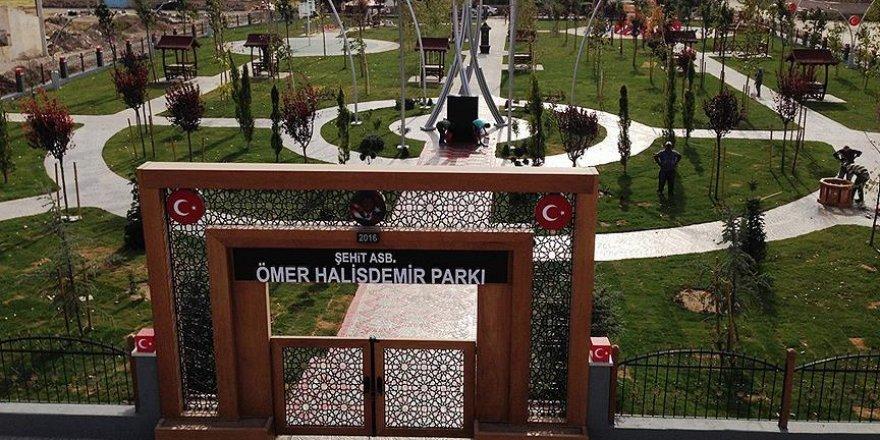 Kahraman şehit Halisdemir'in adı parkta yaşatılacak