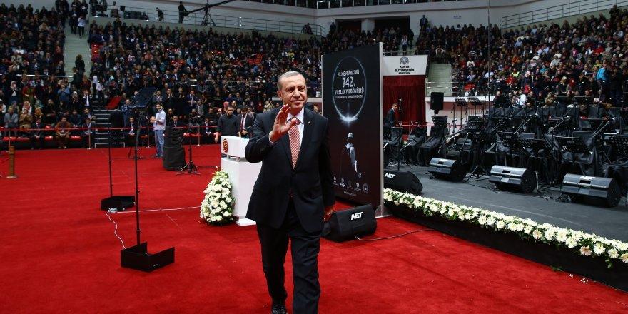 Erdoğan Konyalılarla buluşuyor