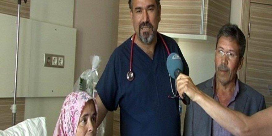 6 damarı tıkalı olmasına rağmen sağlığına kavuştu