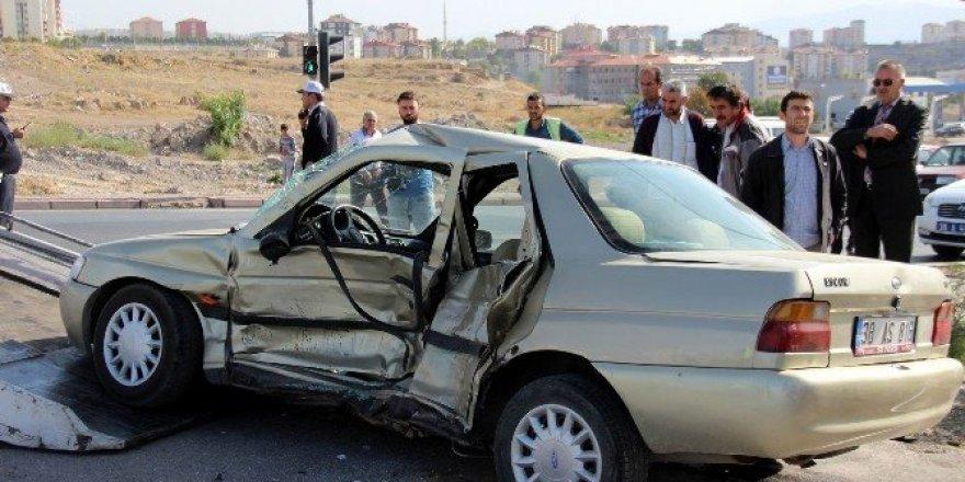 Kayseri'de trafik kazası: 8 yaralı