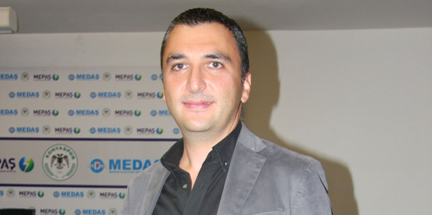 Konyaspor'un yeni basın sözcüsü Erhan Gökmen