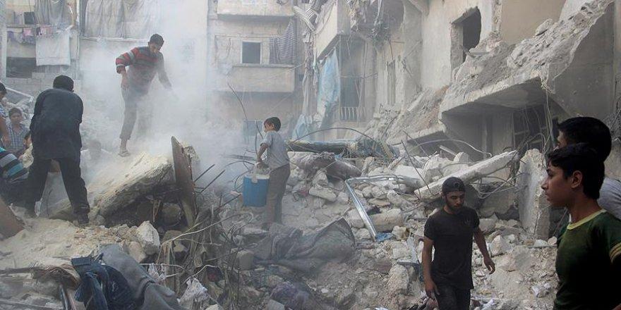 Halep'te 'deprem etkisine' yol açan saldırıda 15 kişi öldü