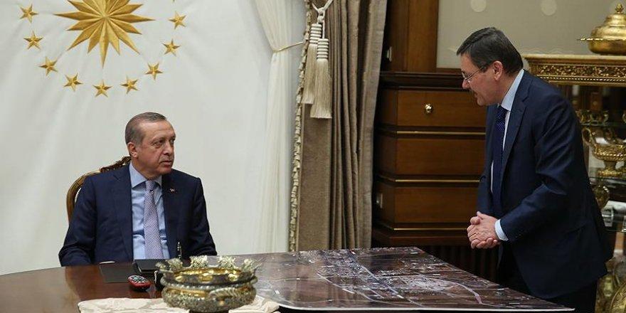Erdoğan, Gökçek'i kabul etti