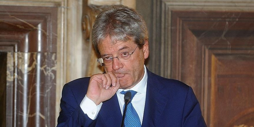 Gentiloni: Rusya'nın Esed rejimi üzerinde olumlu etkileri olacağını düşündük