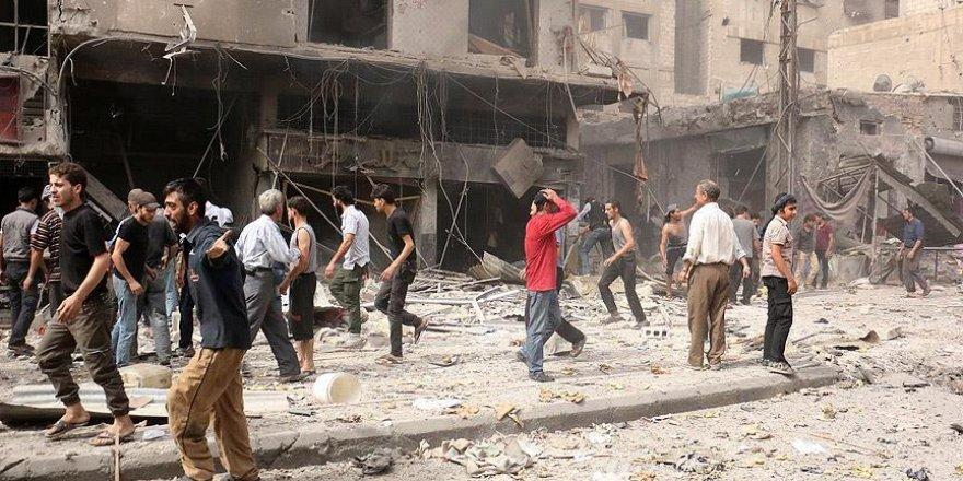 Şam ve İdlib'deki saldırılarda ölenlerin sayısı 94'e yükseldi