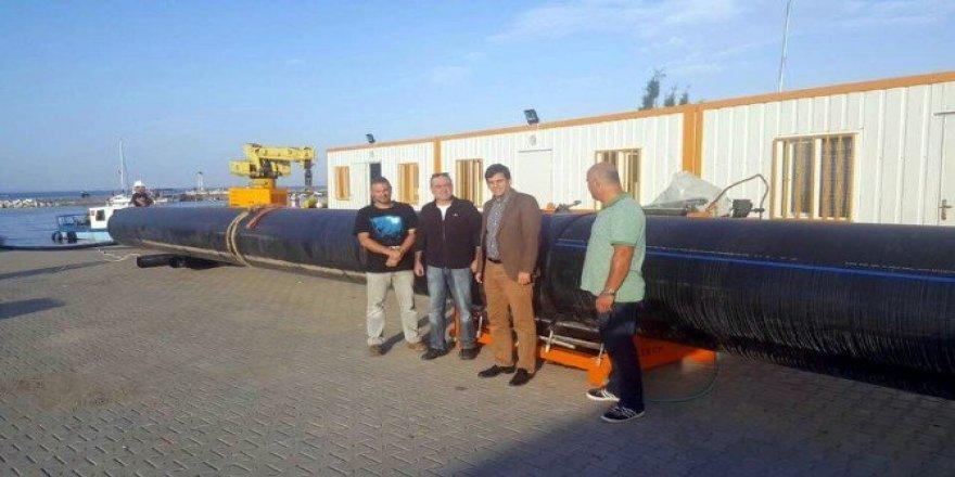 Yalova'da derin deşarj hattı çalışmaları başladı