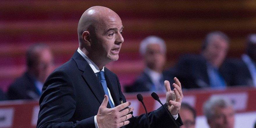 Infantino'dan Dünya Kupası'na ilişkin açıklama