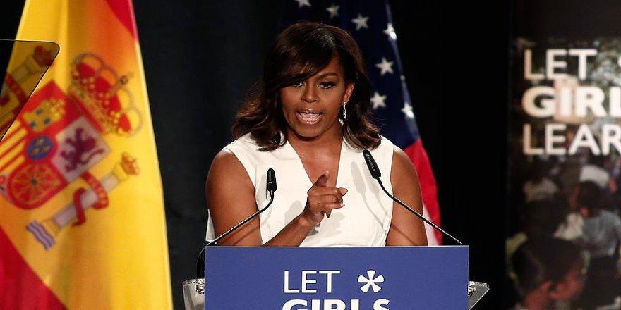 Michelle Obama'dan Trump'a tepki