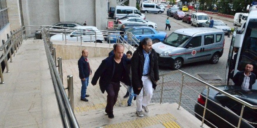 Zonguldak'taki FETÖ soruşturması: 14 şüpheli adliyede