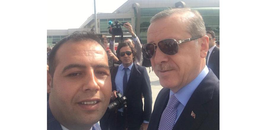 Murat Uluırgı, Cumhurbaşkanı Erdoğan ile özçekim yaptı