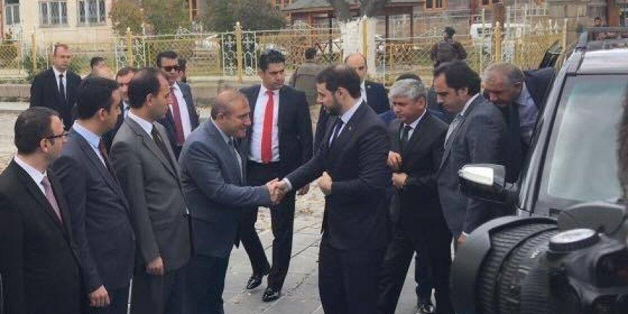 Enerji Tabi Kaynaklar Bakanı Berat Albayrak, Kars'ta