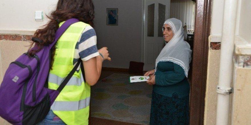 Atıkları kaynağında ayrıştırma için 33 bin hanenin kapısı çalındı