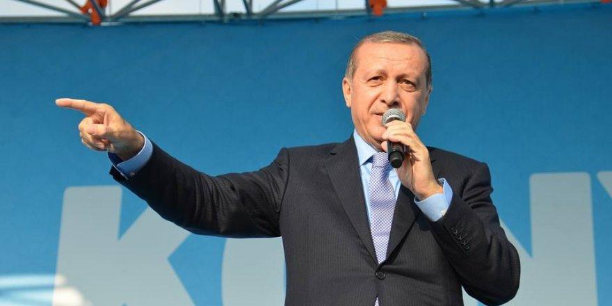 """""""81 vilayet meydanlara yürüdü fakat Konya bir başka"""""""