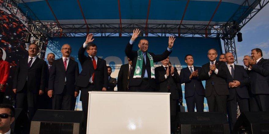 Erdoğan'ın katılımıyla Konya'ya dev yatırım